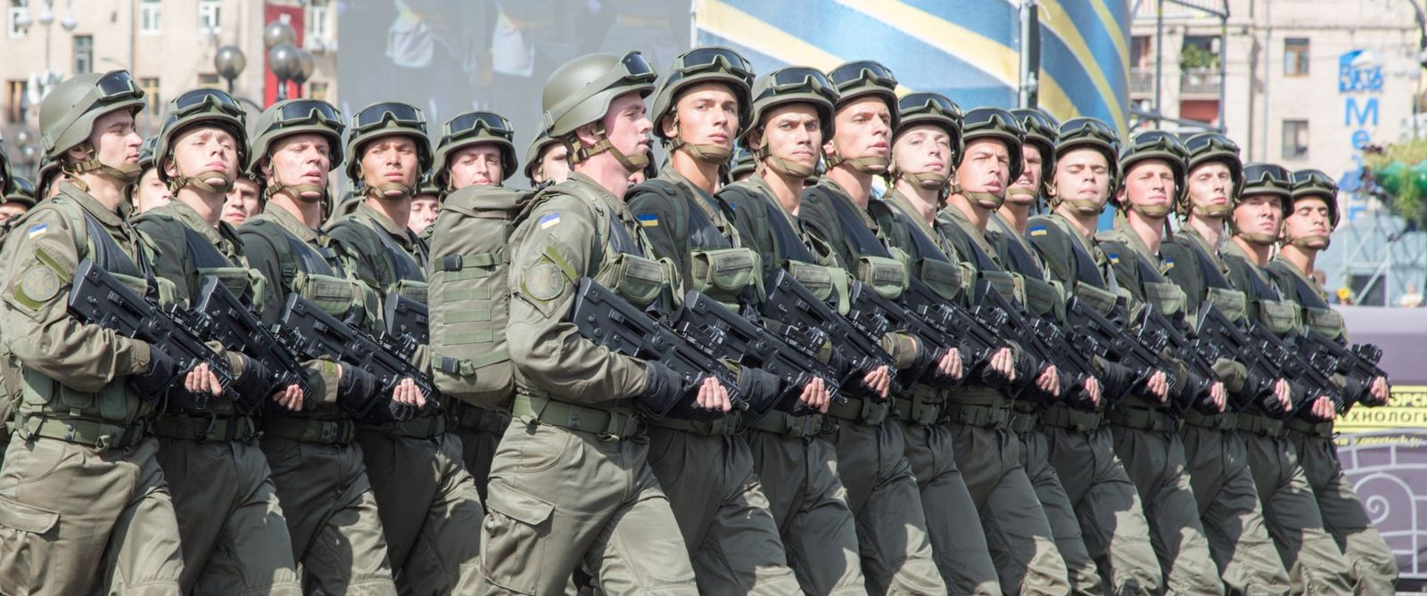 Ukraine feiert Unabhängigkeit mit Militärparade