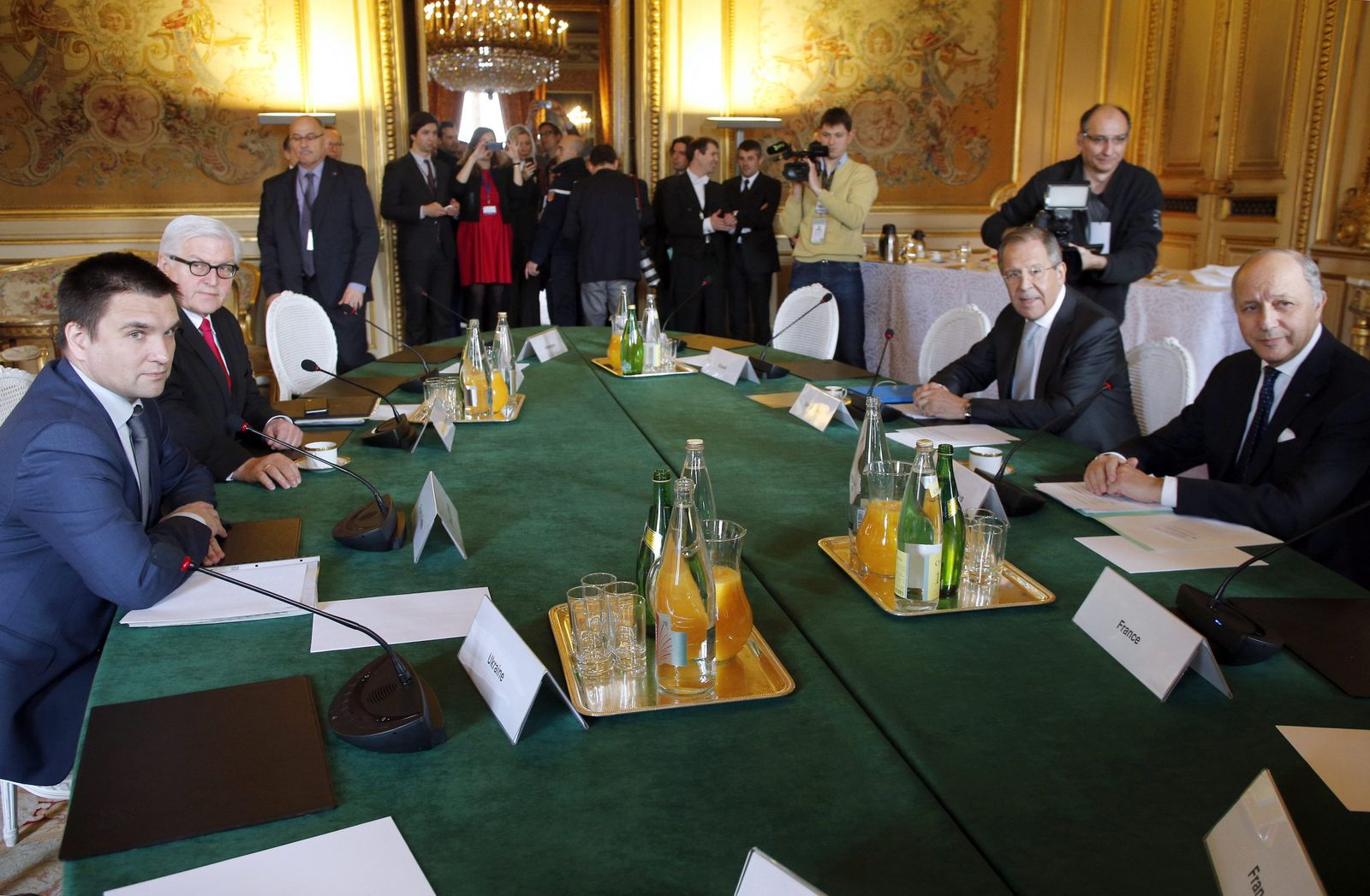 Meeting of the Normandy Four foreign ministers