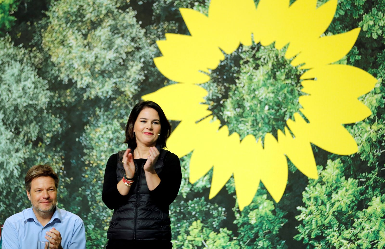 FILE PHOTO: Germany's Green Party delegates conference in Bielefeld
