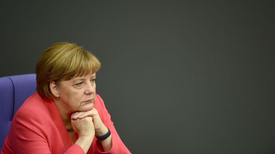 Kanzlerin Merkel: Die Umfragen sprechen für sie - die Statistik nicht
