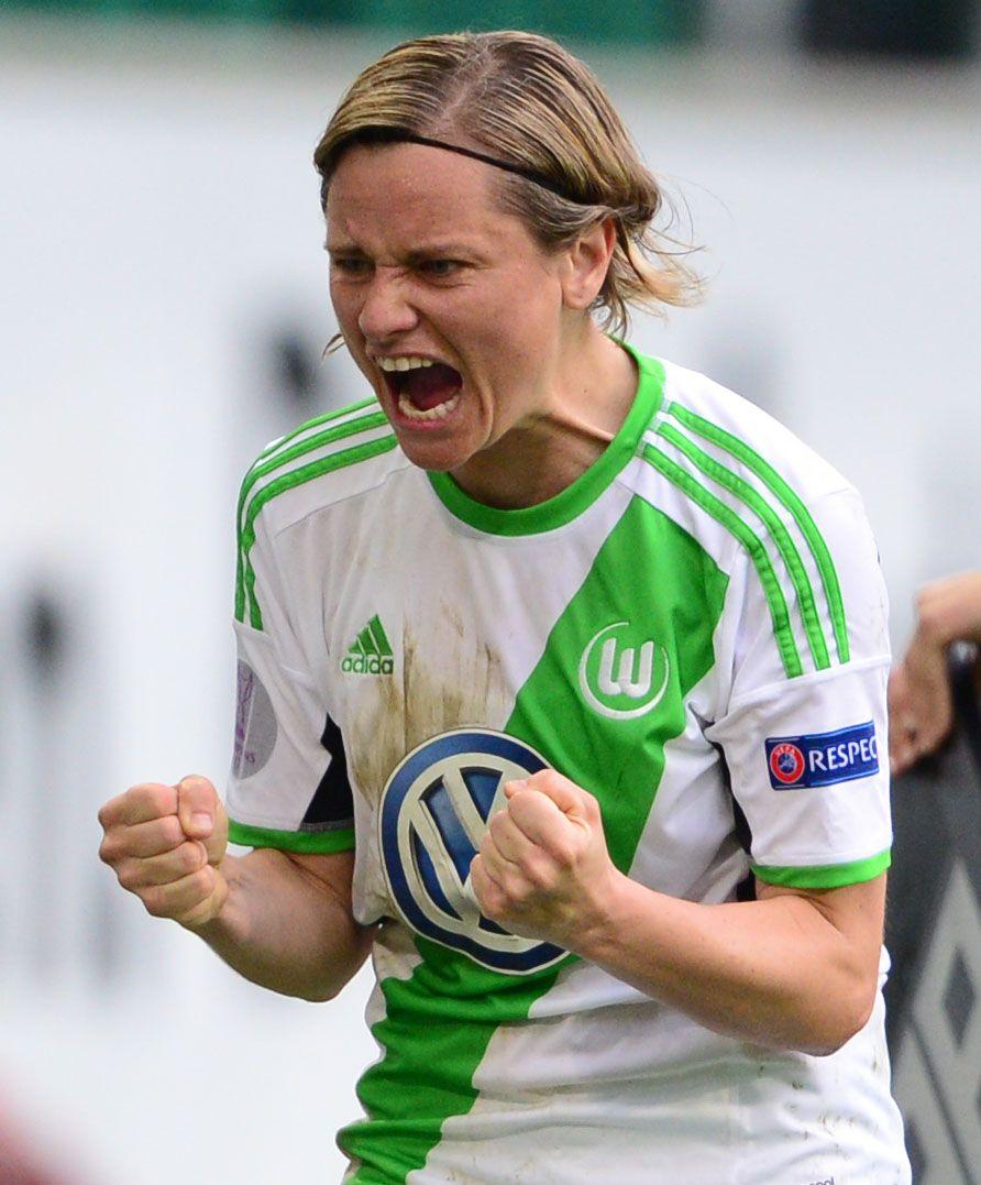 Frauenfussball/ VfL Wolfsburg/ Martina Müller