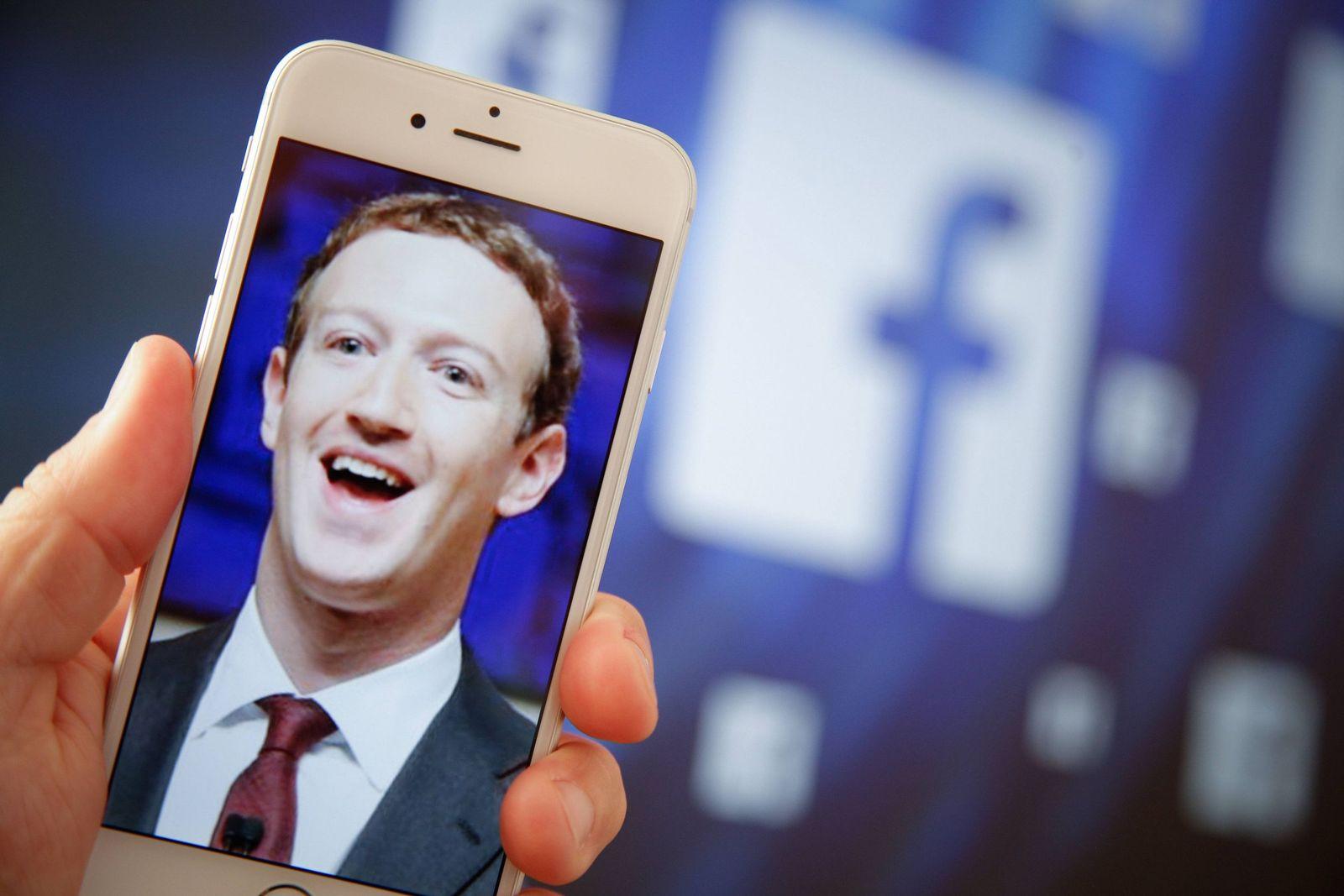 EINMALIGE VERWENDUNG Mark Zuckerberg/ facebook