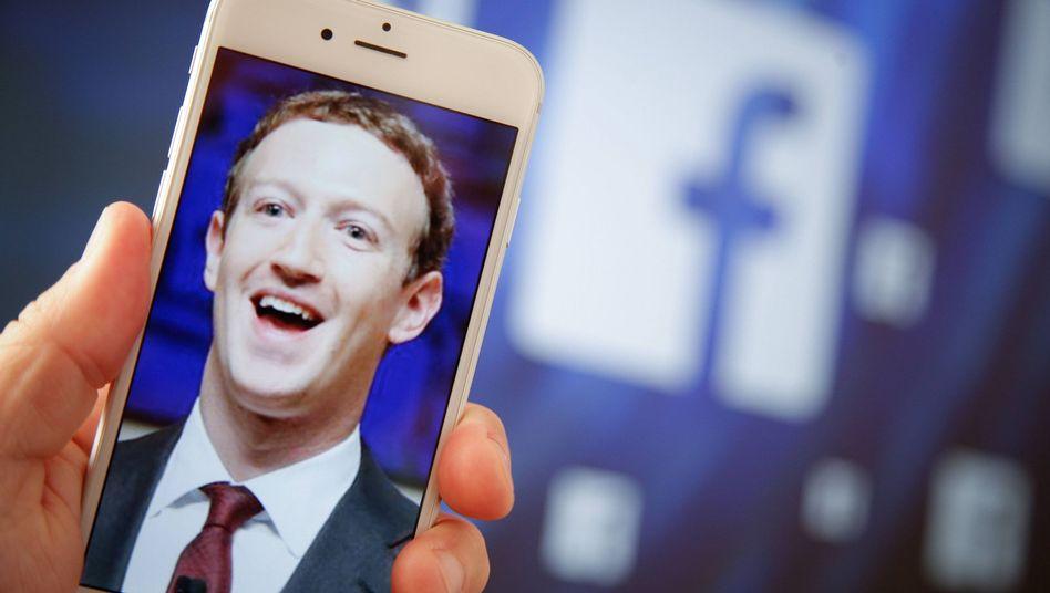 Facebook-Gründer und CEO Mark Zuckerberg