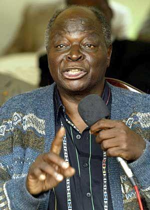 Mwai Kibaki: Kanter-Sieg für den Oppositionpolitiker