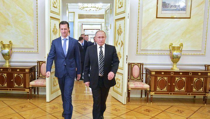 Syrischer Machthaber in Moskau: Assad auf Reisen