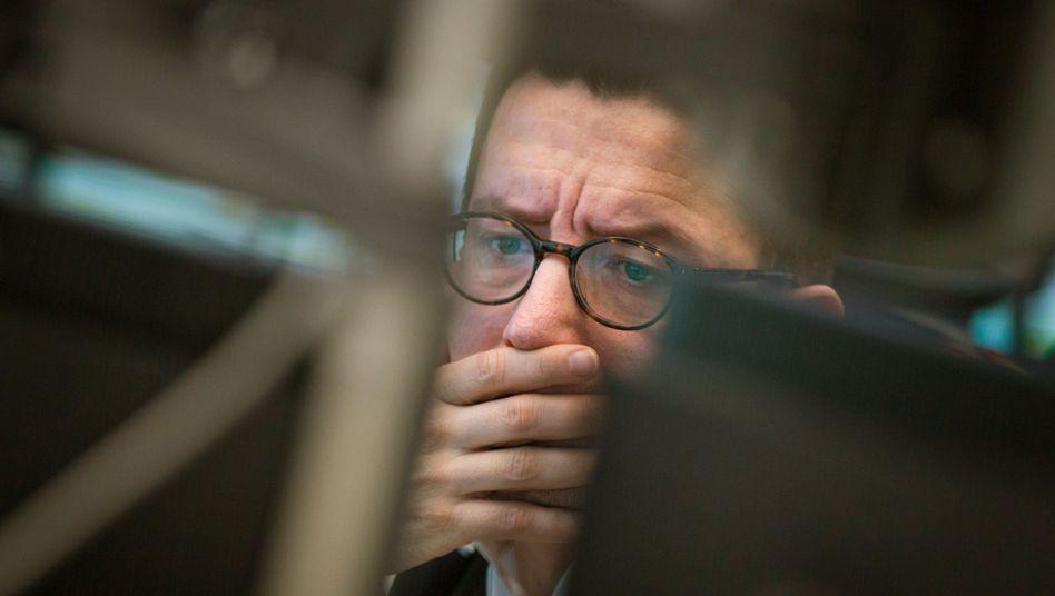 Börsenhändler in Frankfurt: Ende der Kursrallaye