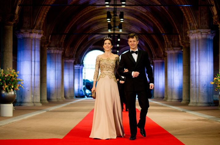 "Danish crown prince couple Mary and Frederik: ""He will become king when I am no longer here."""