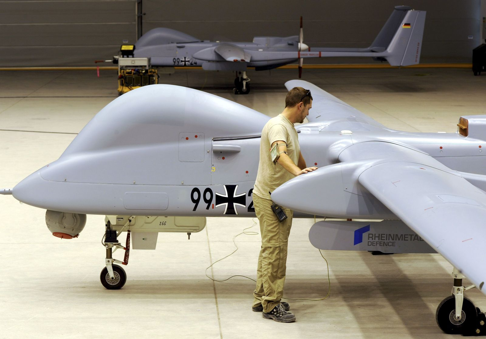 Bundeswehr Drohne