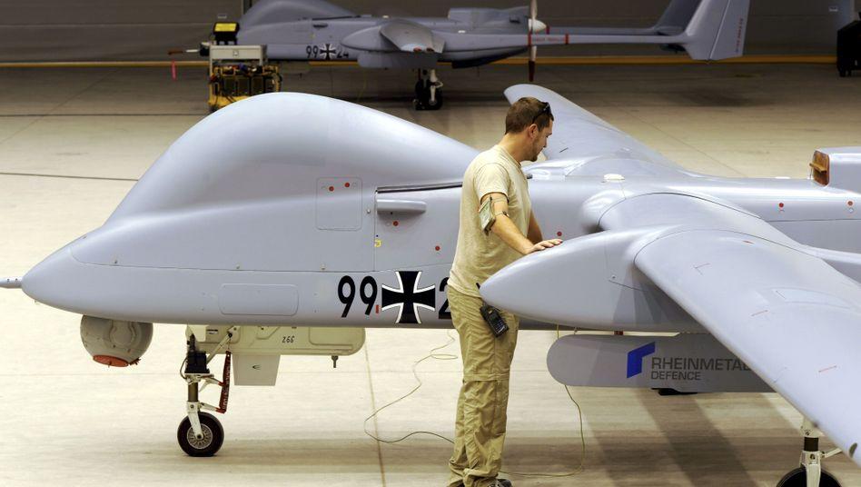 """Bundeswehr-Drohne """"Heron 1"""": Gespräche über mögliche Bewaffnung"""