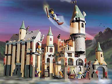 Hogwarts zum Selberbauen: Potter-Merchandise von Lego
