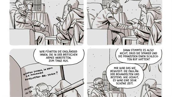 Die Heimatlosen von Paco Roca (Buchauszüge)
