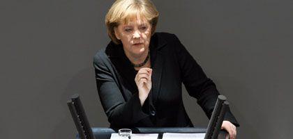 """Kanzlerin Merkel im Bundestag: """"Kooperation statt Abschottung"""""""