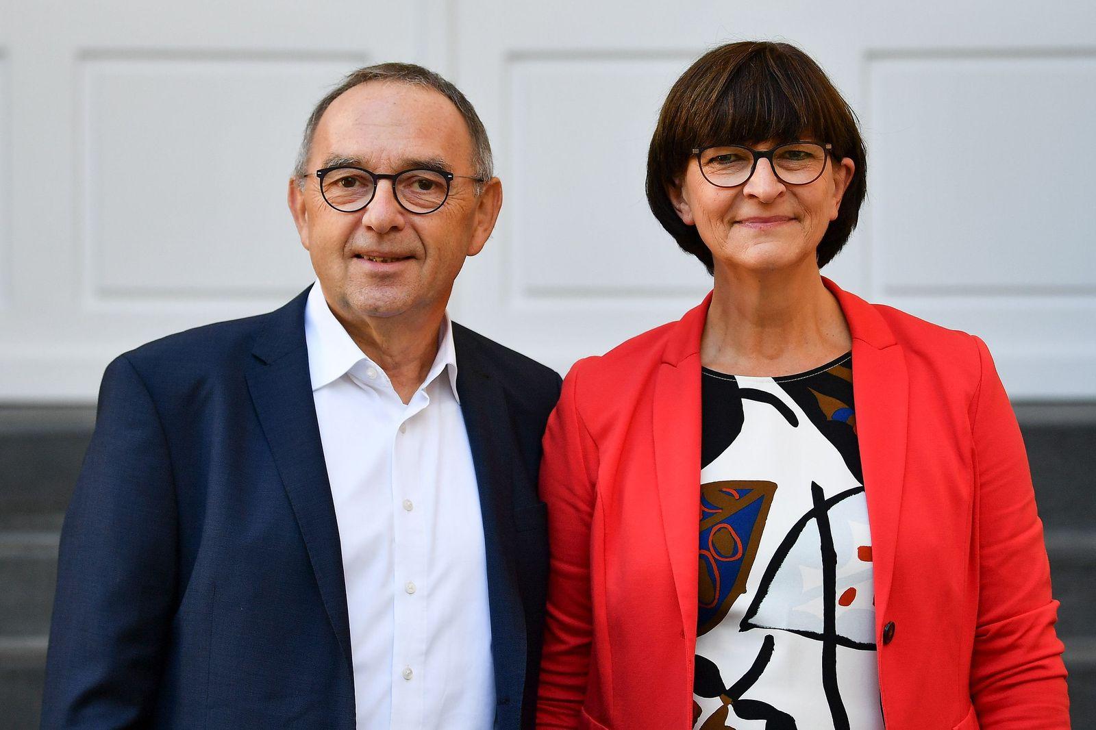 SPD/ Saskia Esken/ Norbert Walter Borjans
