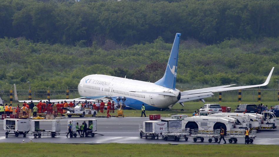 Boeing 737 der chinesischen Fluggesellschaft Xiamen