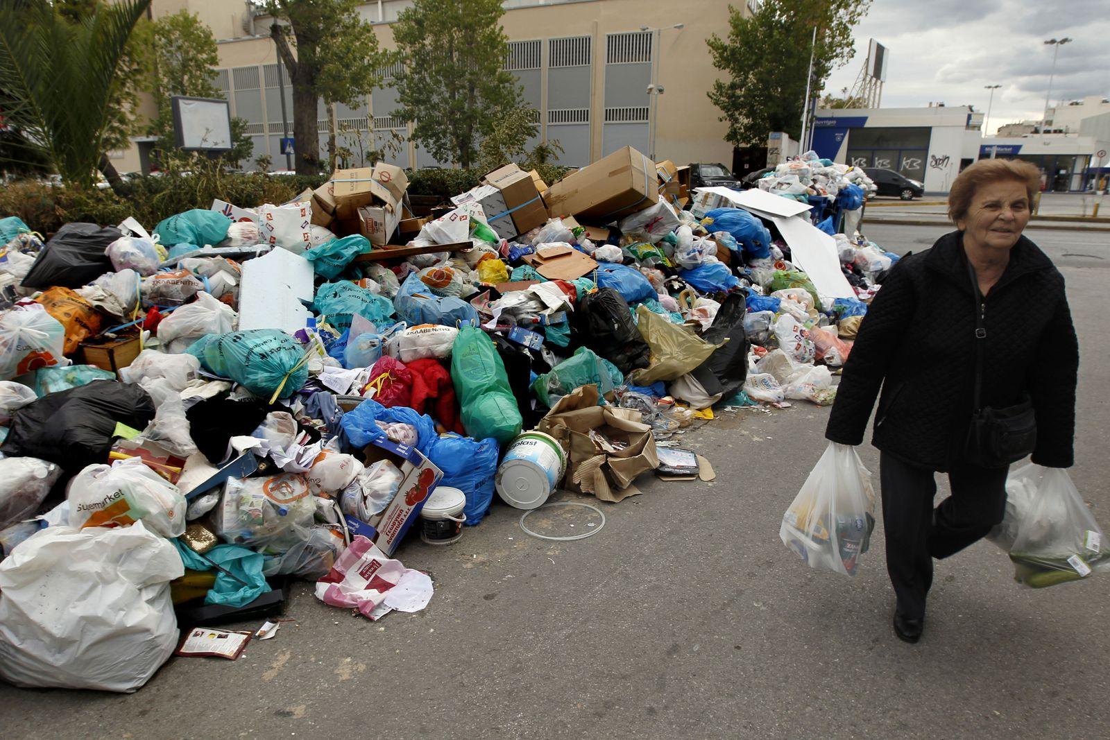 Griechenland/ Streik/ Müll