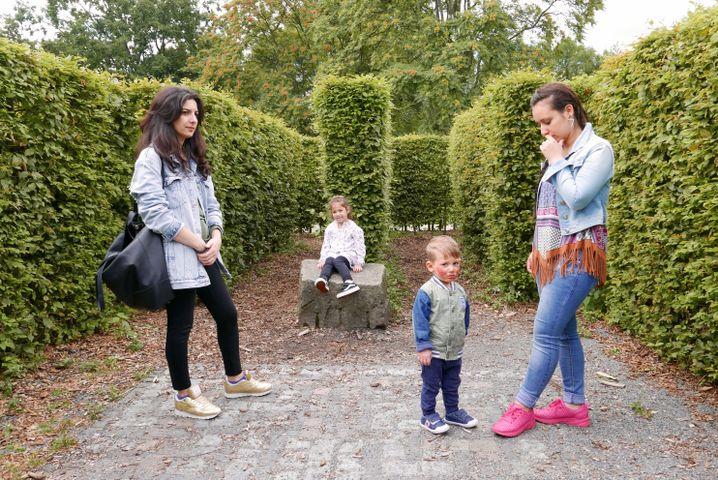 Elternschule: Im Labyrinth