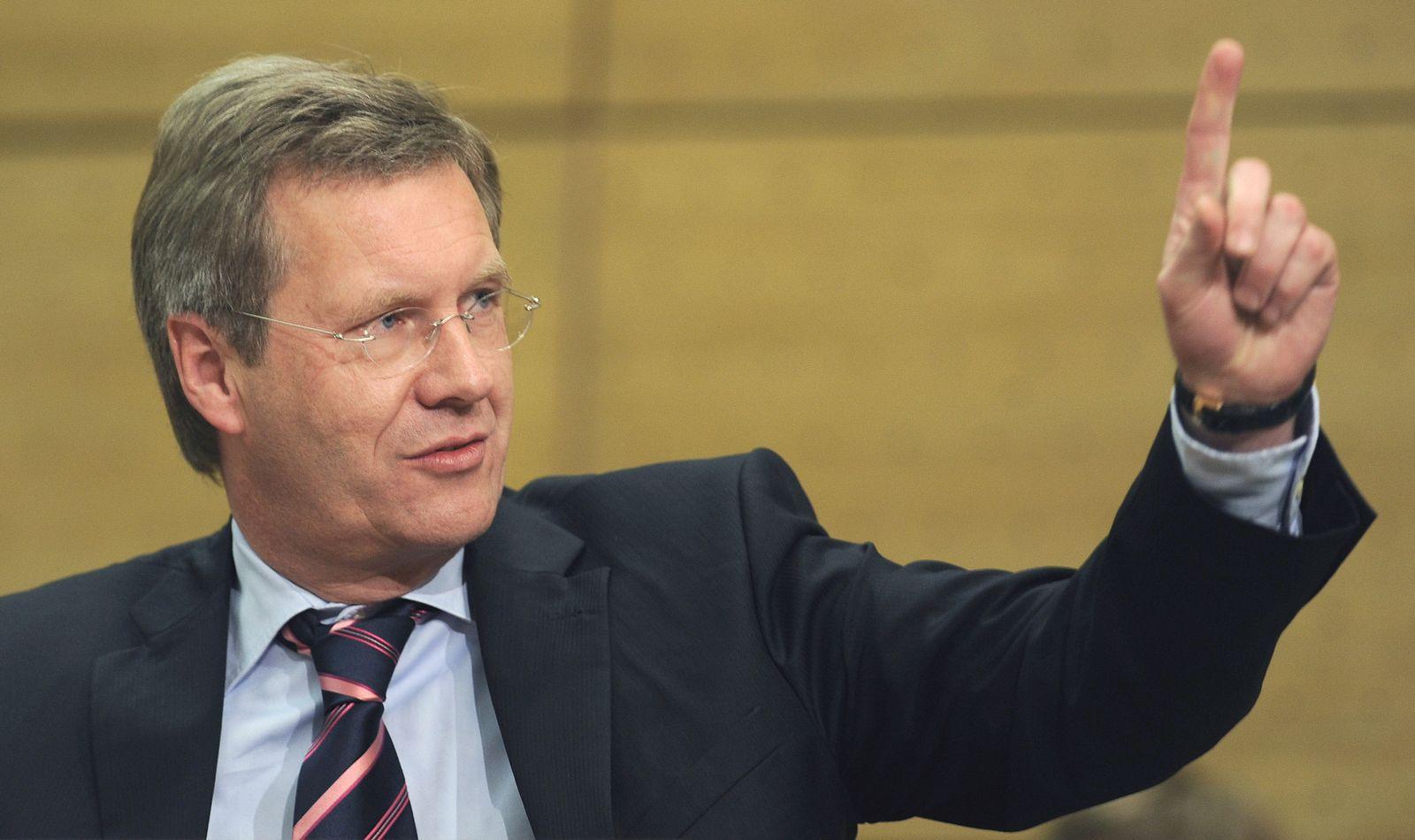 Landtag Hannover - Christian Wulff