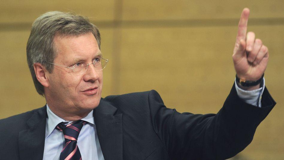 """Bundespräsident Wulff: """"Ich leide physisch darunter"""""""