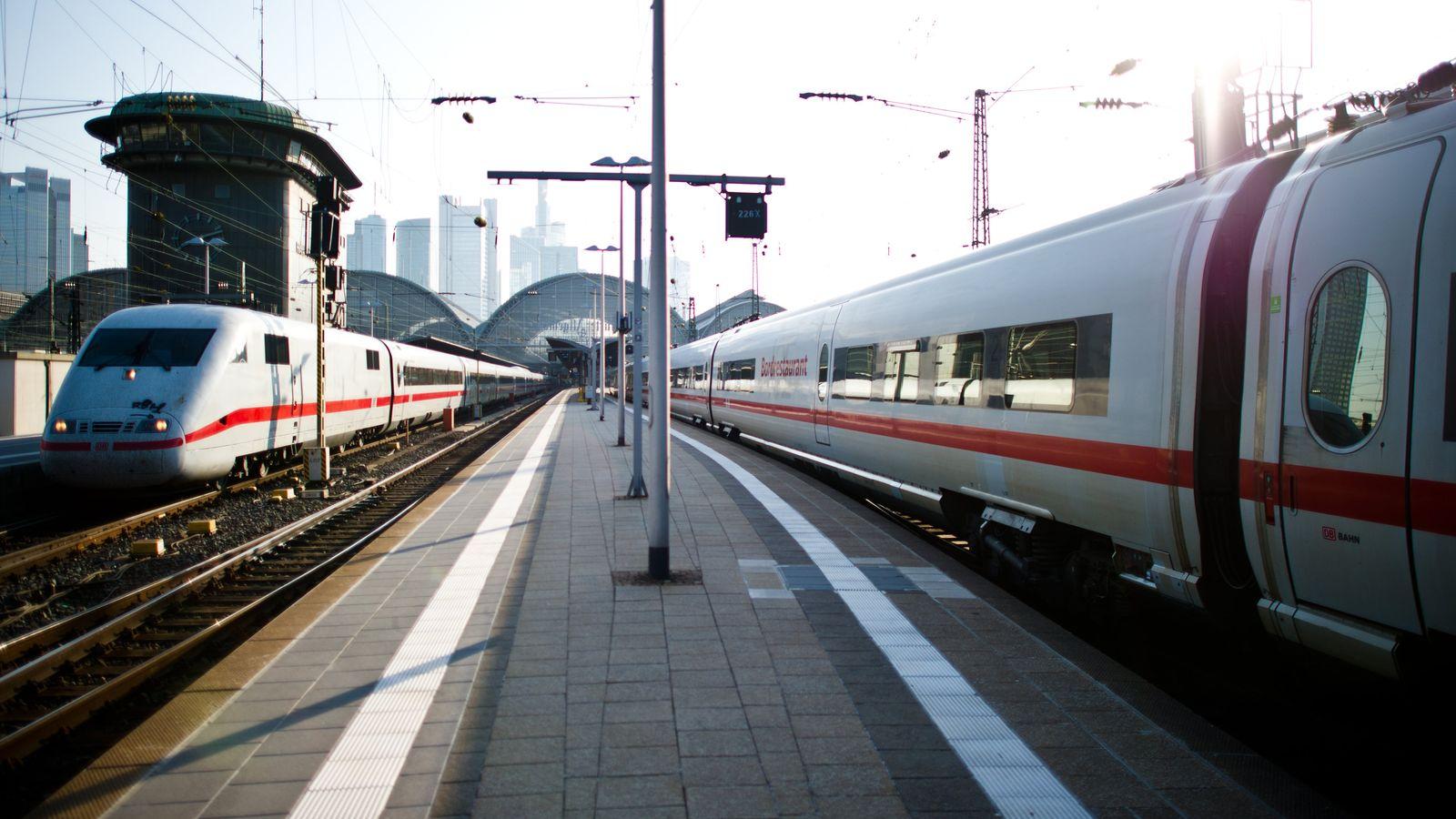 Bahn Streik ICE
