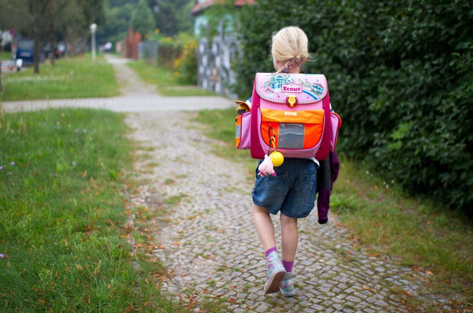 Erster Schultag in Brandenburg