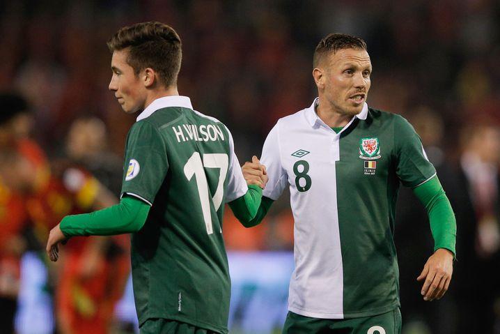 Wales-Nationalspieler Wilson: Opa reich gemacht