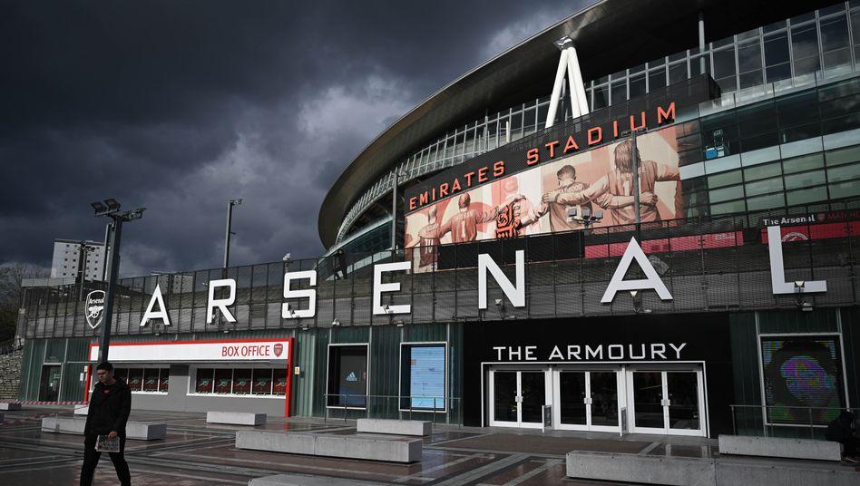 Beim FC Arsenal hat sich die gesamte Mannschaft in Quarantäne begeben