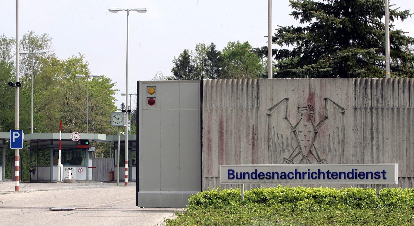 NICHT VERWENDEN BND-Zentrale Pullach