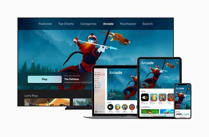 Apple-Arcade-Werbebild