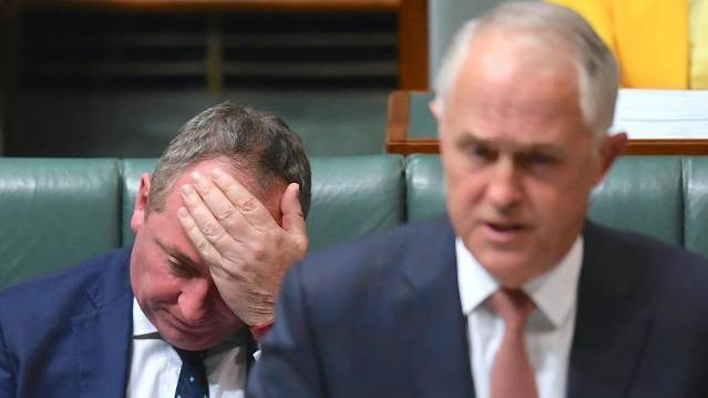 Barnaby Joyce und Malcolm Turnbull