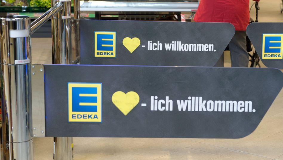 Edeka-Eingang
