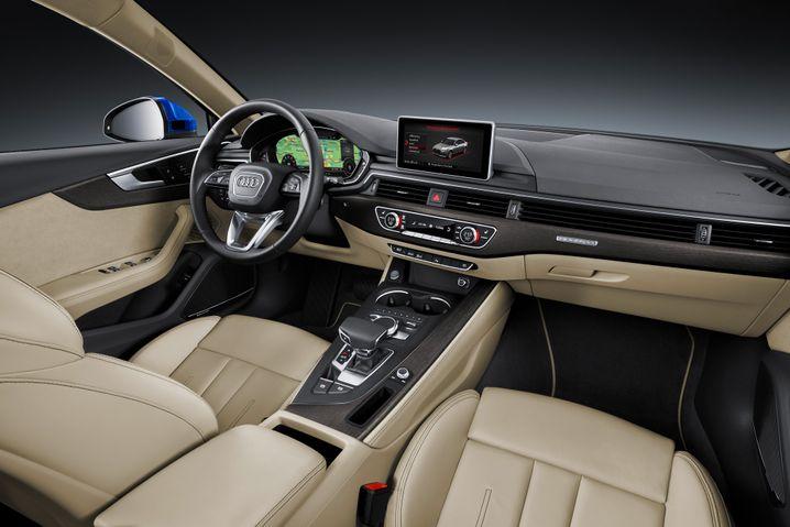 Wieder top: Auch im neuen A4 setzt Audi wieder auf feine Materialien