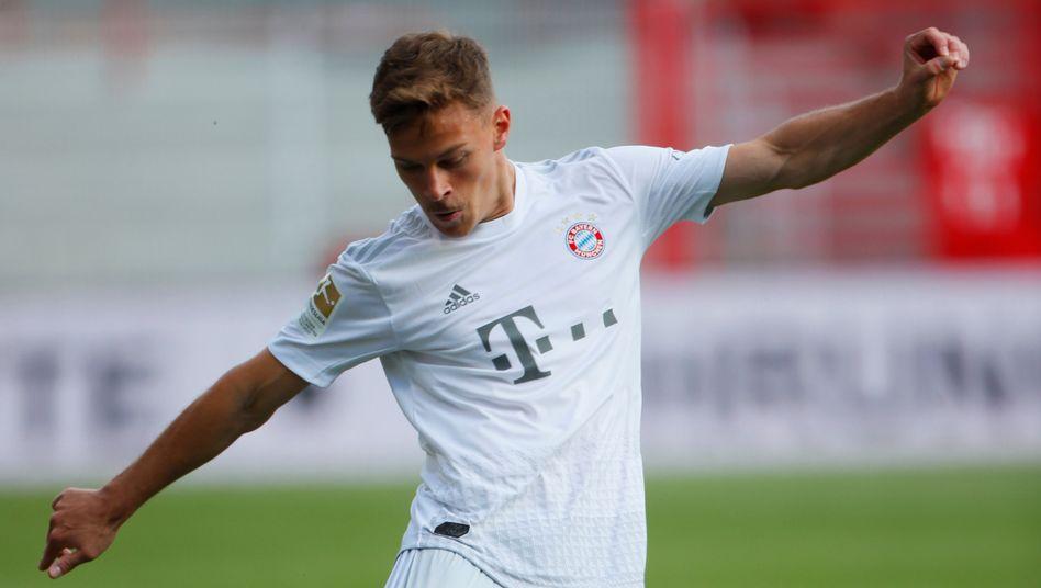 Joshua Kimmich beim 2:0 der Bayern bei Union Berlin