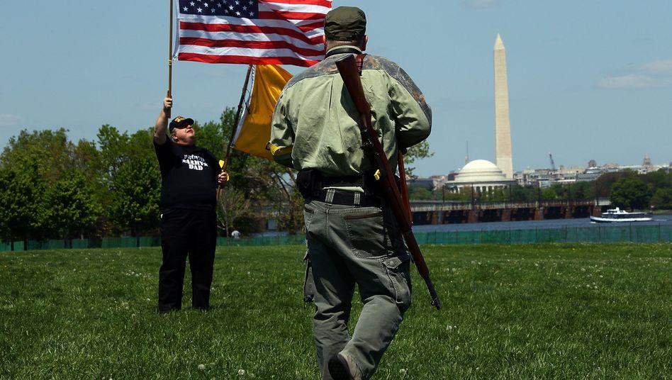 Waffenbesitz-Befürworter in Washington: Sieg vor dem Supreme Court