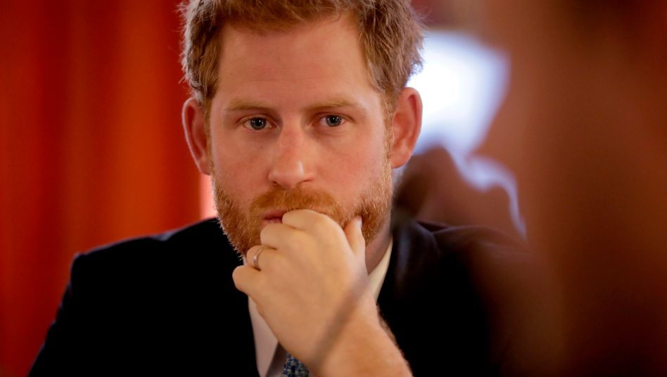 Prinz Harry: »Du kannst sie für immer festhalten«