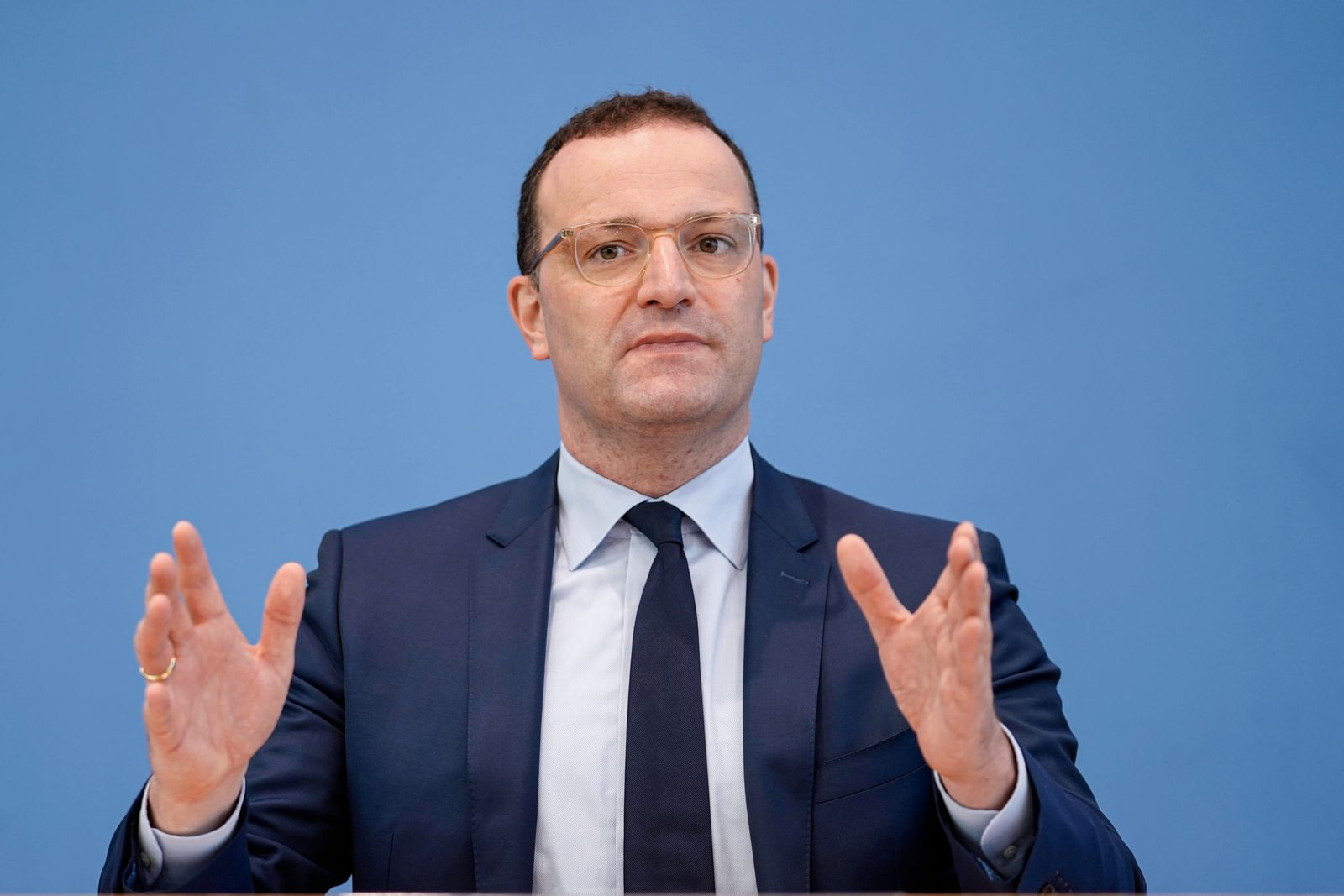 Bundespressekonferenz Impfkampagne gegen Corona Aktuell,08.09.2021,Berlin,Bundesgesundheitsminister Jens Spahn im Portra