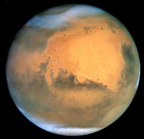 Mars: Terraforming mit Treibhauseffekt