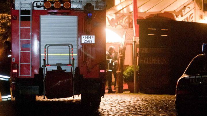 Photo Gallery: Tigers Attack Trainer in Hamburg