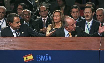 Spaniens König Juan Carlos attackiert Hugo Chávez: Grundprinzip demokratischer Gesellschaften ist der Respekt vor dem politischen Gegner.