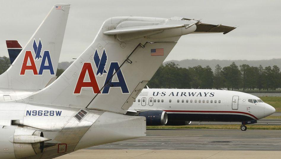 American Airlines und US Airways: US-Konzerne schmieden weltgrößte Airline