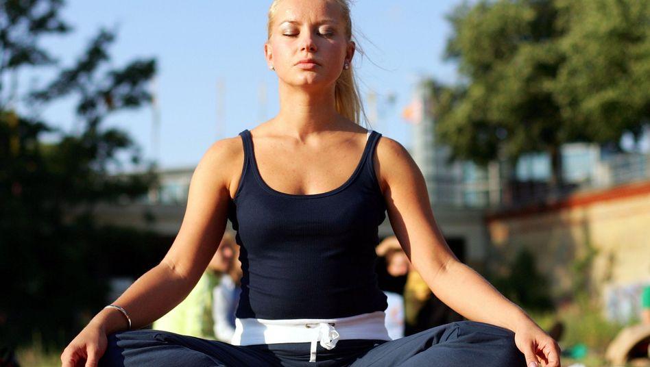 Lotussitz: Isolierung der Nervenzellfortsätze