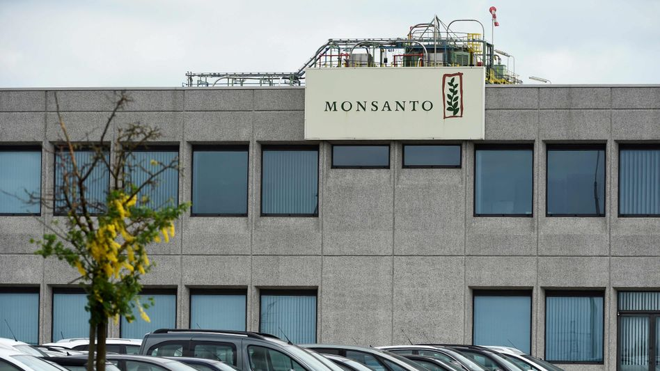Monsanto gehört zum Bayer-Konzern und produziert Saatgut und Unkrautvernichter
