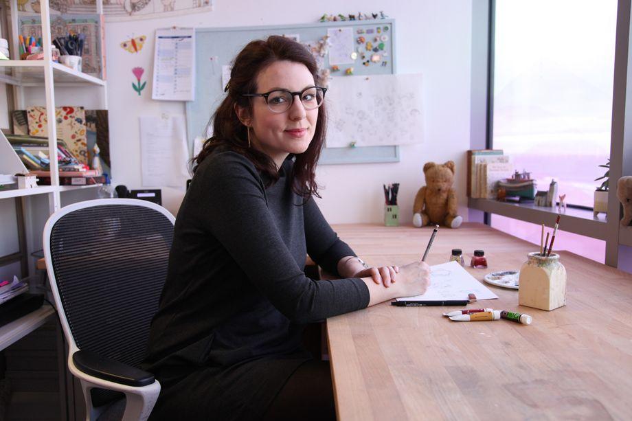 "Jessica Bowmanin ihrem Büro: ""Brexit macht mich traurig"""