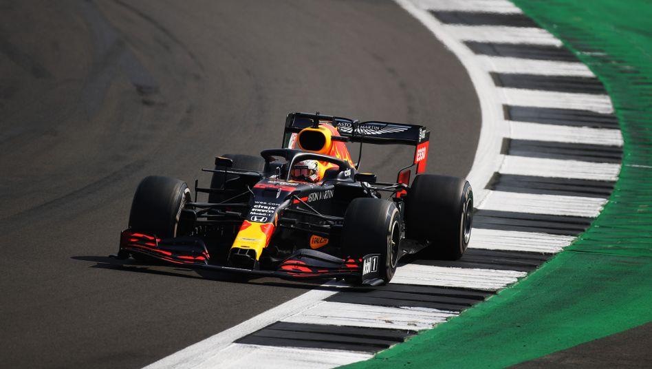 Max Verstappen feierte seinen ersten Saisonsieg