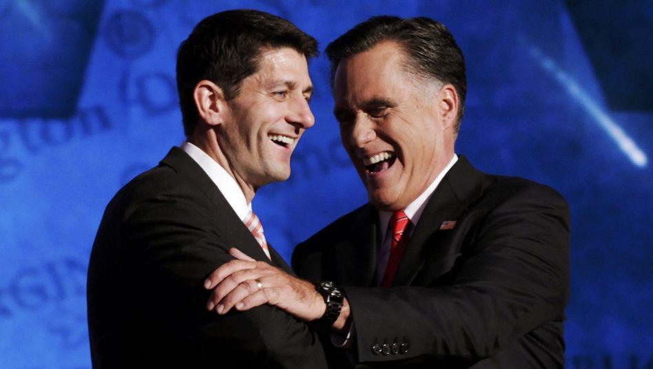 Vizepräsidentschaftskandidat Ryan, Mitt Romney: Vordenker der neuen Rechten