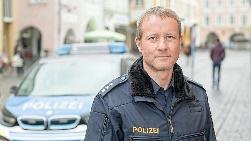 Polizist Andres Guske