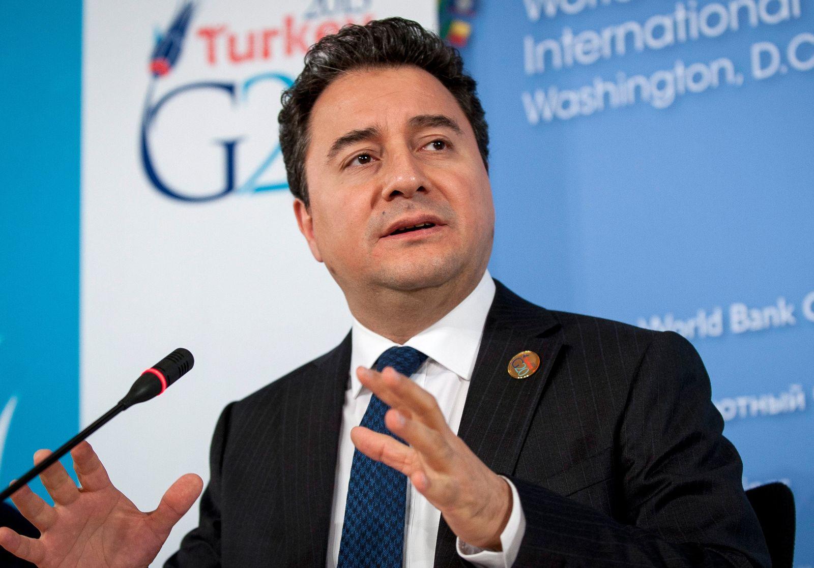 Babacan beantragt Parteineugründung in der Türkei