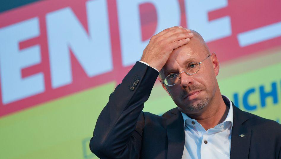 Unter Druck: Ex-AfD-Politiker Andreas Kalbitz