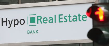 A consortium of banks has stepped in to bailout Munich's Hypo Real Estate.