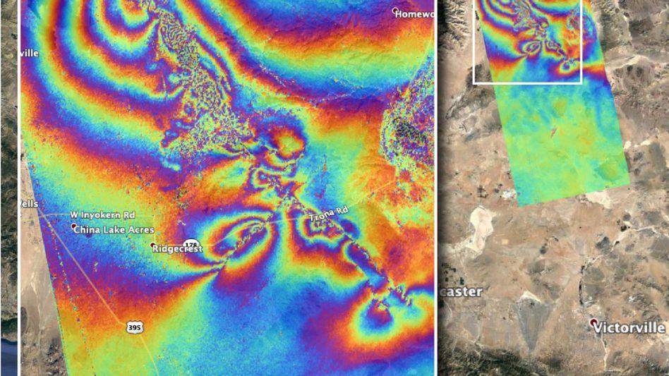 Erdbebengebiet in Kalifornien: Blick in den Untergrund