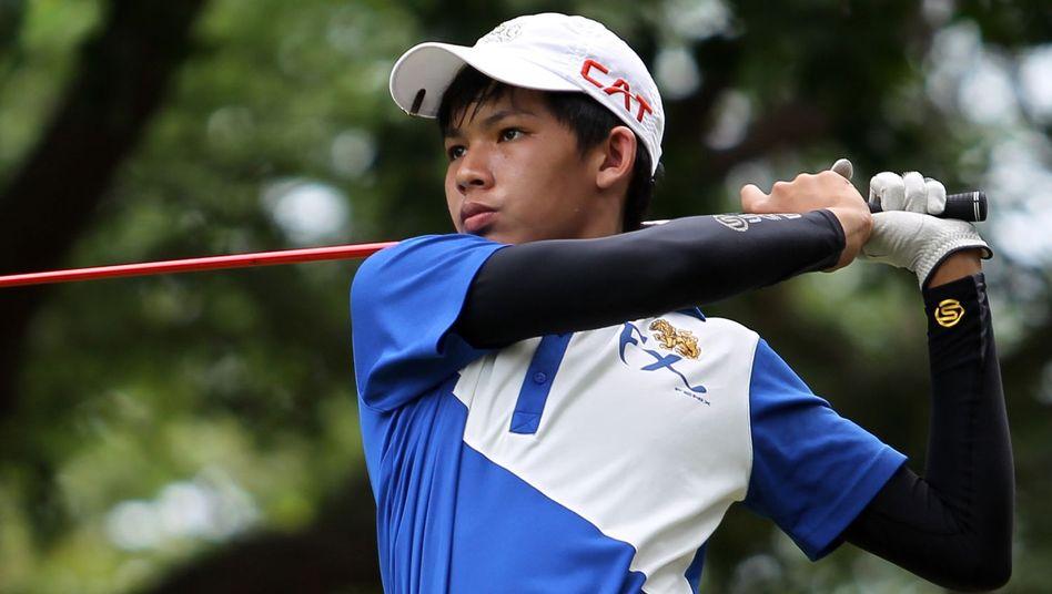 Nachwuchsgolfer Khongwatmai: Jüngster Profi-Turnier-Sieger der Geschichte